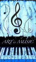 ART is MUSIC Blue