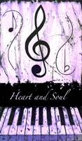 Heart and Soul Purple