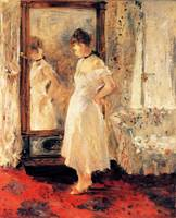 The Cheval Glass, Berthe Morisot, 1876