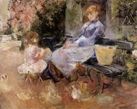 The Fable, Berthe Morisot, 1883
