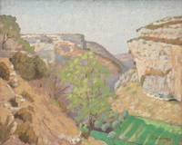 The Gorge by Ernest Moulines (1870-1942)