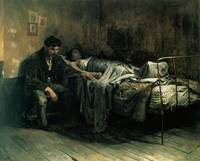 The Misery,  Cristóbal Rojas Poleo, 1886