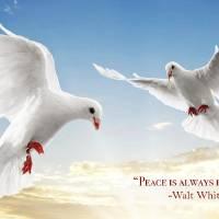 Peace Is Always Beautiful Art Prints & Posters by John Keaton
