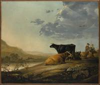 Aelbert Cuyp, Young Herdsmen with Cows