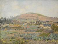 Claude Monet 1840 - 1926 MOUNT Riboudet TO ROUEN I