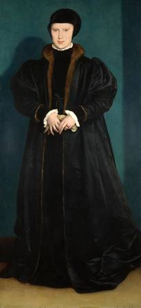 Christina of Denmark - Hans Holbein the Younger