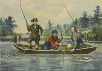 Currier & Ives (Publishers) CATCHING A TROUT