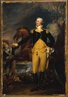 George Washington before the Battle of Trenton , J