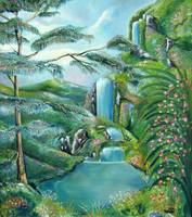 Waterfall NEW Master JOHNKEATONART