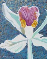 White Orchid 2 JOHNKEATONART