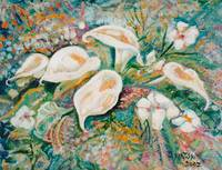Calla Lillies Bouquet JOHNKEATONART