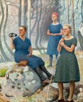 PEKKA HALONEN, GIRLS ON EXCURSION