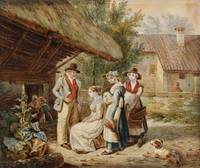 Wolfgang Adam Töpffer, Presentation of the Bride