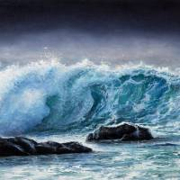 Ocean waves Art Prints & Posters by Boyan Dimitrov