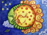 Sleeping Sun and Moon