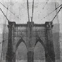 ORL-3068-5.Brooklyn Bridge, New York City in grey