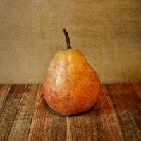Pear on Cutting Board 1.0