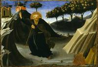 Saint Anthony Tempted by a Lump of Gold Fra Angeli