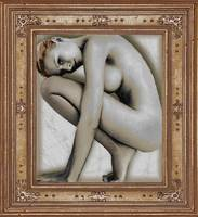 Art For The Sake Of Art Woman Framed 4