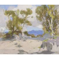 SPENCE SMITH R.S.A. (SCOTTISH 1880-1951) BEACH SCE
