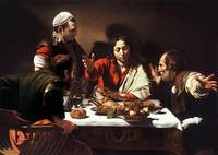 Supper at Emmaus (1602) Caravaggio, 1602