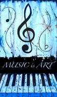 MUSIC is ART Blue