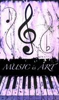 MUSIC is ART Purple