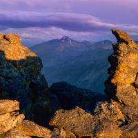 Longs Peak Panoramic Art Prints & Posters by Santomarco Photography
