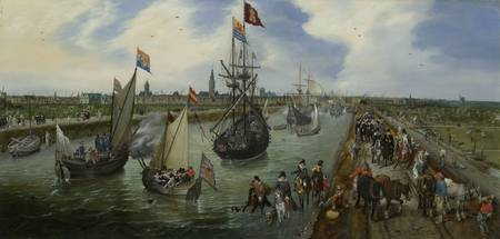 The Departure of a Dignitary from Middelburg, Adri