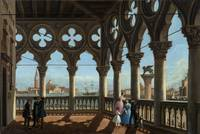 Vincenzo Chilo, The Ducal Palace loggia,