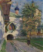 VINOGRADOV, SERGEI (1869-1938) Church of St Nichol