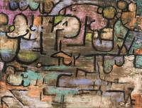 1920, White Blossom in the Garden by Paul Klee, 19