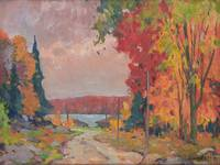 Beaver Lake, Parry Sound by John William Beatty