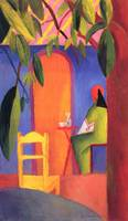 August Macke - Turkish Cafe - 1914