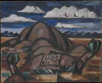 Cemetery, New Mexico, Marsden Hartley