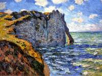 Claude Monet 1882 The Manneport