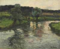 Fritz Thaulow, In the evening, 1893