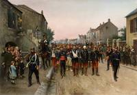 Gaston Claris, Prussian Soldiers Escorting French