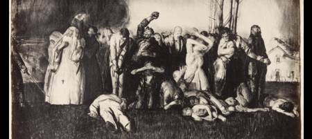GEORGE BELLOWS (1882-1925) Village Massacre, from