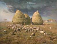 Haystacks,  Autumn ,  Jean-François Millet
