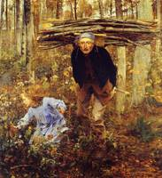 Jules Bastien-Lepage - Le Pere Jacques (The Woodga