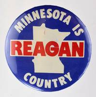 Minnesota Is Reagan Country State Map Button