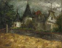 RYBACK, ISSACHAR (1897-1935) Old Manor House
