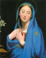 Virgin of the Adoption by Jean-Auguste-Dominique I