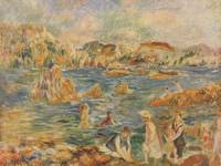 1882-83 The Beach at Guernsey by Auguste Renoir