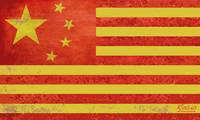 Chinese American Flag