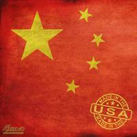 China Flag Made In The Usa