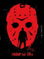 Alternative friday the 13th movie poster