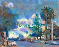 Kensington Sign and Park San Diego