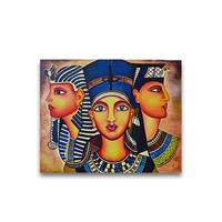 Pharaoh Oil Painting - YesNo